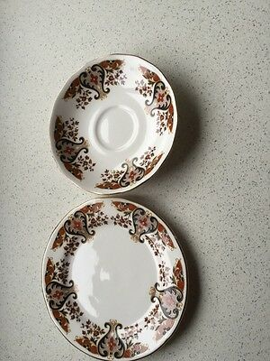 Colclough 'Royale' Side Plate And Saucer