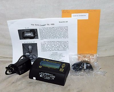 Haz-Dust DL-103 The Data Logger Real Time