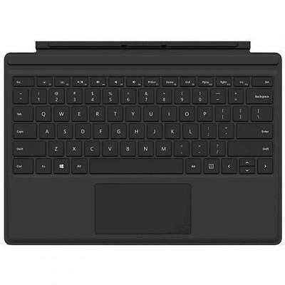 Microsoft Surface Pro 4, Black Type Cover Keyboard   with Backlit Keys - Compati