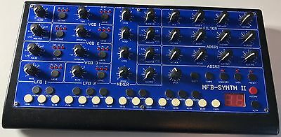 MFB Synth II - Fully Analogue, Sequencer, Presets, Midi, In/Out