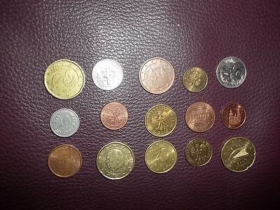 15 Mixed Coins (all different)