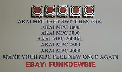 3x NEW Akai MPC Large-type Tactile Switch for MPC 1000, 2000, 2000XL, 2500, 4000