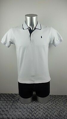 Men's Polo by Ralph Lauren polo shirt, white, small [ref:1446]