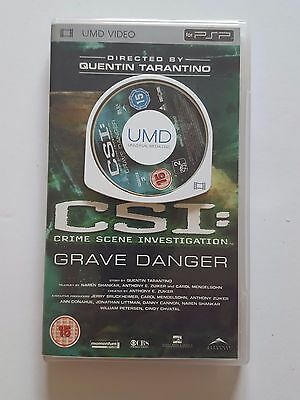 PSP video - CSI Grave Danger