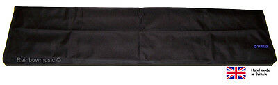 Deluxe Digital Piano Dust Cover Black For Yamaha P255