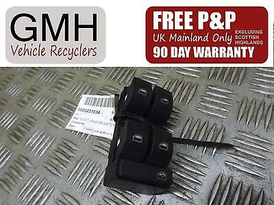 Audi A4 Right Driver O/s Front Electric Window Switch 4 Way 2001-2005¿*
