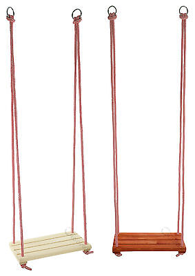 Traditional Wooden  Swing, Rope Swing, Outdoor Child Garden Toy