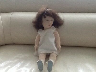 Vintage Cloth Doll. Very Unusual. (Two More Listed!)