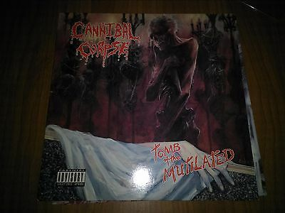 Cannibal Corpse Tomb Of The Mutilated Lp Vinyl First Press Rare