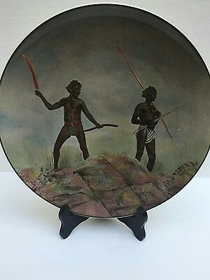 Royal Doulton Made In England Aborigines With Hunting Weapons D. 6421
