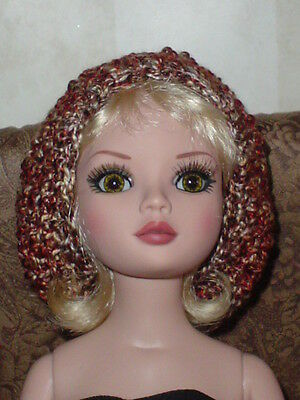 Handcrafted Slouch Doll Hat Tonner Ellowyne Amber Lizette Browns