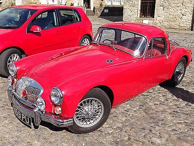 Rare 1961 MGA 1600 Series II Fixed Head (bodied) Coupe
