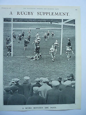 """"""" A Score Between The Posts."""" 1928. Rare."""