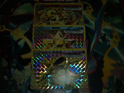 Pokemon Cards - Lot of Breaks - Ultra rares - Mint - Nidoking, Starmie, Florges