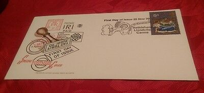 First Day Cover - Special Postmark Cover - Chistmas 1970 - Bethlehem