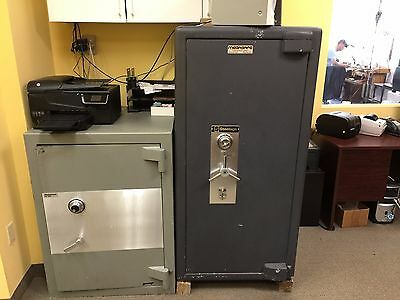 Two Commercial Safes