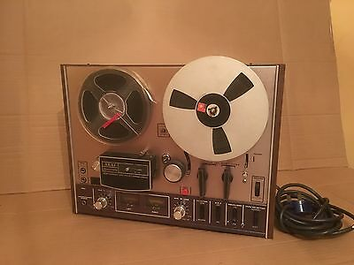Vintage Japan Akai 4000 Ds Reel To Reel Tape Deck Rare Boxed With Tapes
