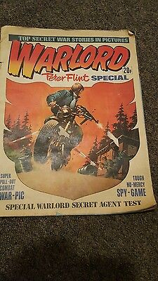 Warlord Peter Flint 1976 Special VERY RARE