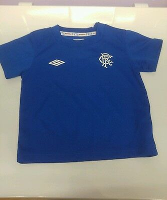 baby boys rangers top size 18-24 months brand new