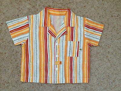 Baby Boys Short Sleeved Shirt From Dunnes  Age 3-6 Months  New