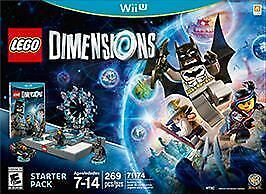 Wii U Lego Dimensions Replacement Game Only - Brand New!