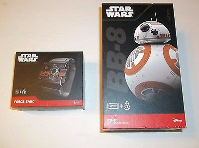 NEW Genuine Star Wars The Force Awakens BB-8 Sphero App Enabled Droid Force Band