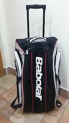 BabolaT Large Pull-along Multi-racket Tennis Bag