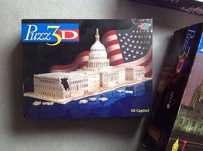 PUZZ 3D. US Capitol Building. Complete. Hardly used. Rare