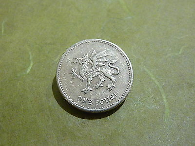 ☆ 1995  `THE DRAGON` £1 COIN ONE POUND - Coin Hunt ☆