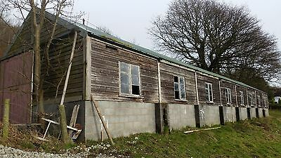 Ex Army/millitary wooden sectional building / shed