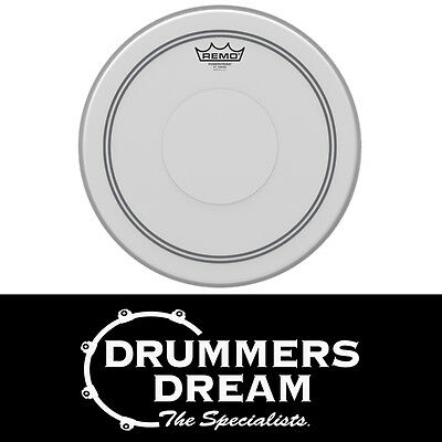 """Remo 14"""" Powerstroke 3 Coated Snare Drum Head / Skin with Clear Dot P3-0114-C2"""
