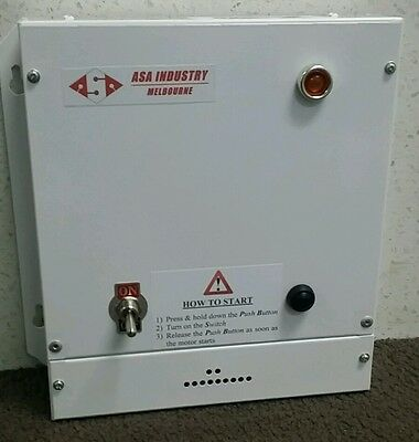 Static phase converter, 240V, single to three phase  1.5 kW