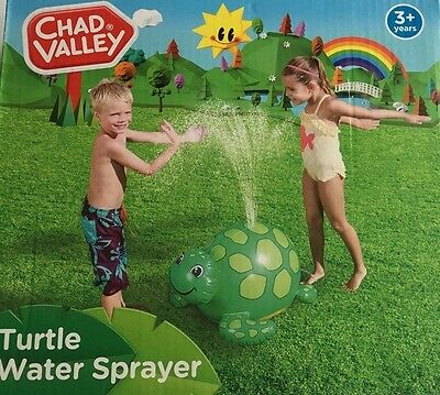 Chad Valley Inflatable Turtle Water Sprayer ��