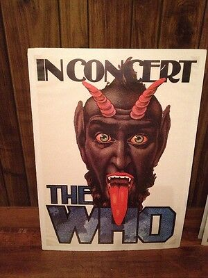 The Who In Concert Repro Poster .