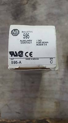 Allen Bradley 595-A Auxiliary Contact  W197