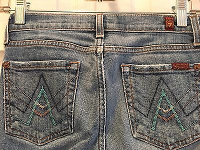 7 For Mankind Girls Boot Cut Jeans Sz 12 714934  Euc