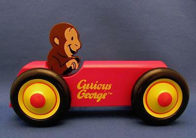 Curious George Wooden Toy Car - Schylling