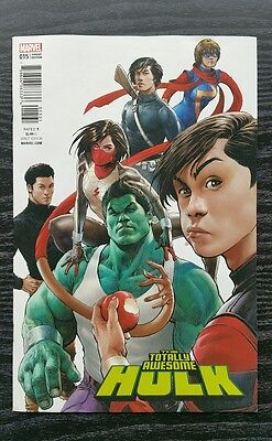 Totally Awesome Hulk #15 1:25 Singh Variant 1st Protectors Team VF see pictures