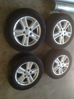 Ford Bf Falcon Alloy Wheels And Tyres