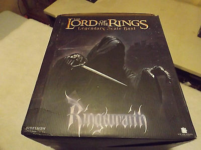 LORD OF THE RINGS RINGWRAITH LEGENDARY SCALE BUST Sideshow Collectibles