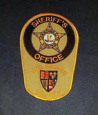 King George County Sheriff, Virginia, Patch, Police