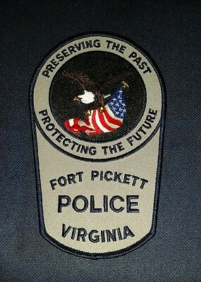 Fort Pickett Police, Virginia, Patch, Sheriff