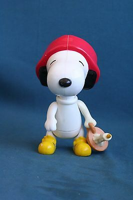 large Peanuts Candle snoopy 2000 mcdonalds toy doll cute and nice