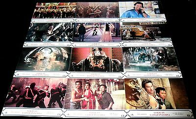1986 Big Trouble in Little China ORIGINAL SPAIN LOBBY CARD SET John Carpenter