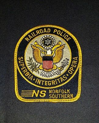 Norfolk Southern Railroad Police, Virginia, Patch, Sheriff