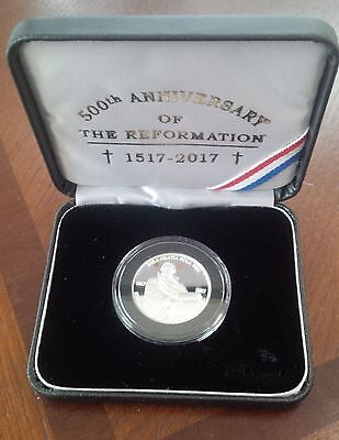 500th Reformation Anniversary Medallion Coin - 1/2 Troy Ounce, .999 Silver