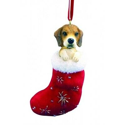 Beagle Santa's Little Pals Dog Christmas Ornament