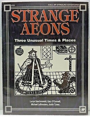 Call of Cthulhu Strange Aeons Chaosium Inc 2353 Horror Roleplaying Sourcebook