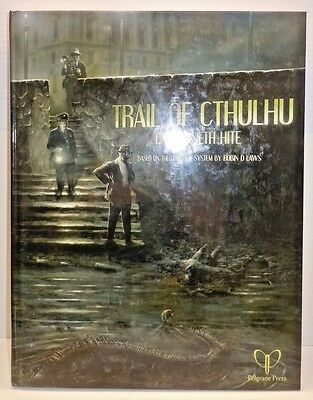 Call of Cthulhu Trail of Cthulhu Pelgrane Press Chaosium pelgt01 Hardcover