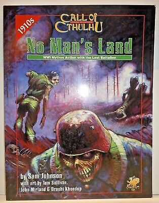 Call of Cthulhu No Mans Land 1910's Chaosium Inc. 2385 OOP SC RPG